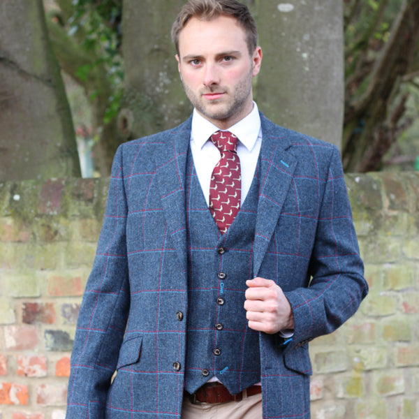 Rupert Tweed Jacket in Heston