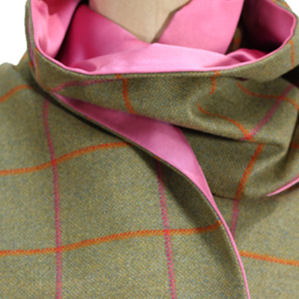 Deluxe Juno Tweed & Silk Scarf - Limited Edition