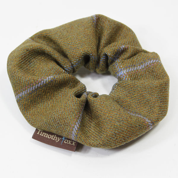 Tweed hair Scrunchie