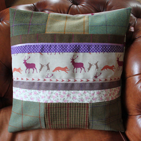 Countryside Tweed Cushion