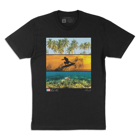 Puerto Rico Triptych T-Shirt