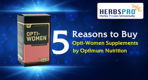 5 Reasons to Buy Opti-Women Supplements by Optimum Nutrition