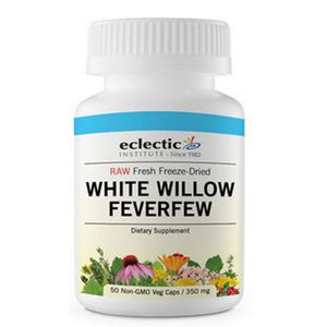 White Willow Feverfew 50 Caps By Eclectic Institute Inc