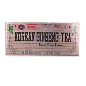 Korean Ginseng Tea 100 Bags By Superior Trading Company