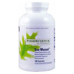 Sea Mussel Plus 180 Tabs By Foodscience Of Vermont