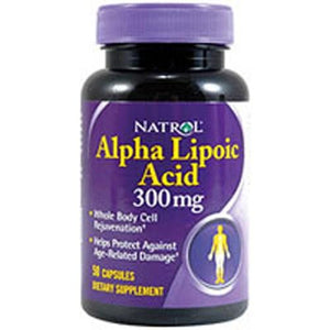 Alpha Lipoic Acid 50 Caps By Natrol