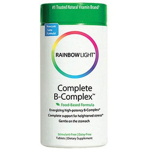 Complete B Complex 180 Tabs By Rainbow Light