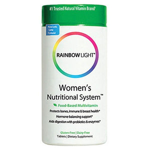 Women's Nutritional System with Vitex 180 Tabs By Rainbow Light