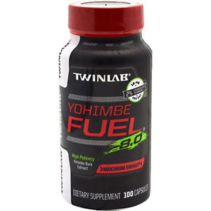 Yohimbe Fuel 100 CAPS By Twinlab