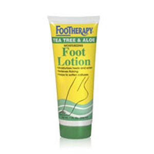 Foot Lotion, TEA TREE & ALOE, 7 OZ By Queen Helene
