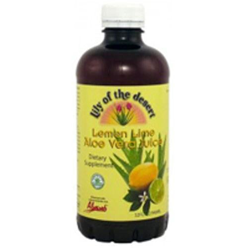 Aloe Vera Juice Lemon-Lime 32 Oz By Lily Of The Desert