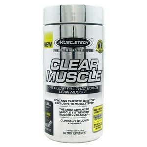 Clear Muscle 168 Caps By Muscletech