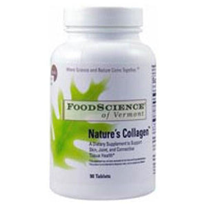Natures Collagen 90 Tabs By Foodscience Of Vermont