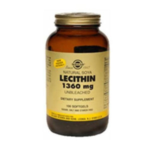 Lecithin 250 S Gels By Solgar