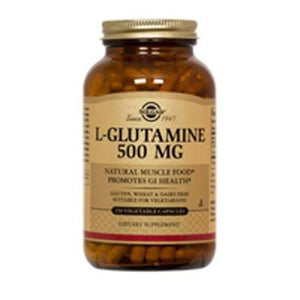 L-Glutamine 50 V Caps By Solgar