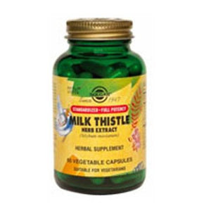 SFP Milk Thistle Herb Extract Vegetable Capsules 60 V Caps By Solgar