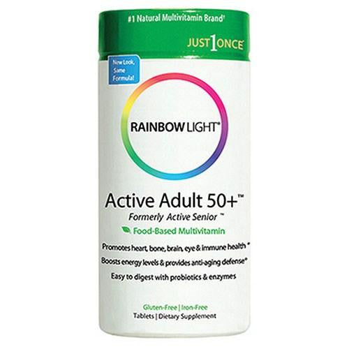 Active Adult 50+ Multivitamin - 90 Tabs