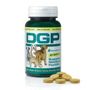 DGP Dog Gone Pain Mobility & Flex for dogs 60 Chewable Tabs By American Biosciences (Immpower)