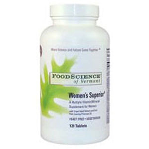 Womens Superior Tabs 120 By Foodscience Of Vermont