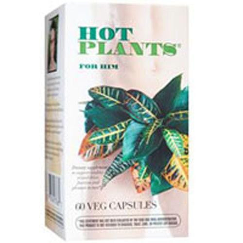 Hot Plants For Him 60 Capsules By Enzymatic Therapy