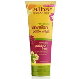 Body Wash Hawaiian Passion Fruit Value Size 24 Oz By Alba Botanica