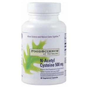 N-Acetyl Cysteine 90 Caps By Foodscience Of Vermont