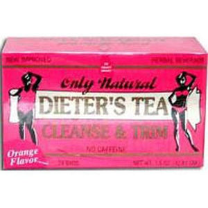Cleansing Diet Tea Orange, 24 Bag By Only Natural
