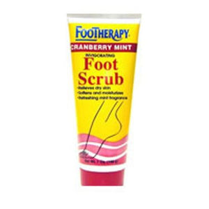 Foot Scrub CRANBERRY MINT, 7 OZ By Queen Helene
