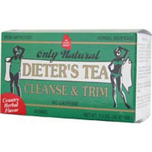 Cleansing Diet Tea Herb, 24 Bag By Only Natural