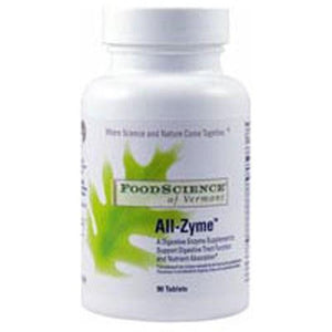 All-Zyme 90 Tabs By Foodscience Of Vermont