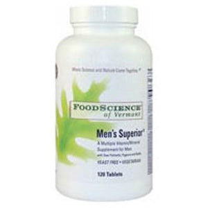 Mens Superior 120 Tabs By Foodscience Of Vermont