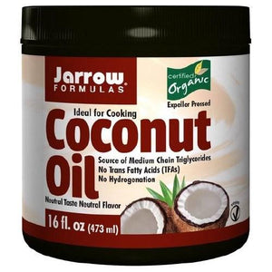 Coconut Oil 100% Organic 454 gms By Jarrow Formulas