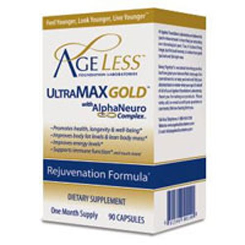 Ultra MAX Gold 90 Cap By Ageless Foundation Labs