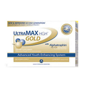 UltraMAX Gold Effervescent Powder 22 Pkt By Ageless Foundation Labs