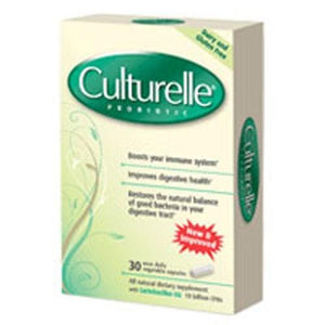Health & Wellness Probiotic 30 Caps By Culturelle