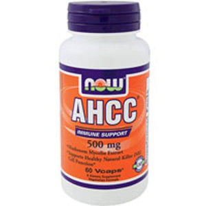 AHCC 60 Vcaps By Now Foods