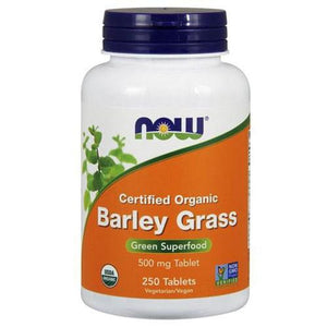 Barley Grass 250 Tabs By Now Foods
