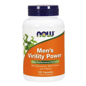 Mens Virility Power 120 Caps By Now Foods