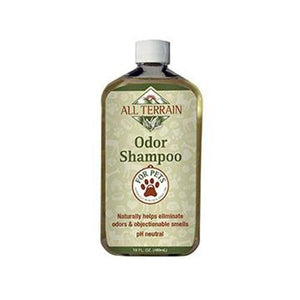 Pet Odor Shampoo 16 oz By All Terrain
