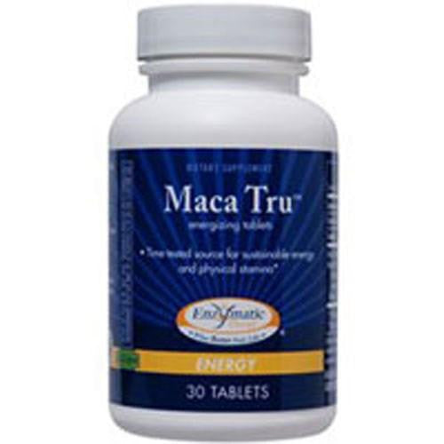 Maca Tru 30 Tabs By Enzymatic Therapy