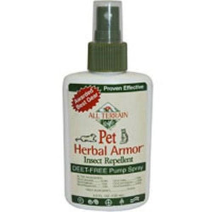 Pet Herbal Armor Insect Repellent Spray 4 Oz By All Terrain