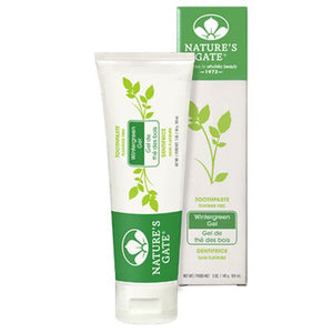 Toothpaste Wintergreen Gel 5 Oz By Nature's Gate