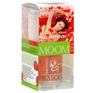 Botanical Hair Removal Kit With Rose Essence, Kit By Moom