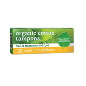 Tampon, Organic Cotton, 20 Ct By Seventh Generation