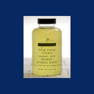 Honey Bubble Bath Rosemary Mint 17 Oz By Deep Steep
