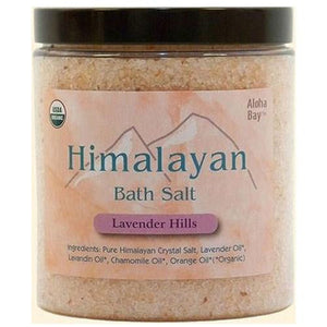 Himalayan Bath Salts Lavender, 24 Oz By Aloha Bay