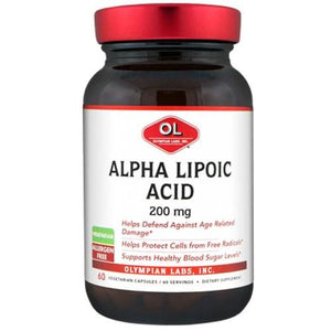 Alpha Lipoic Acid 60 Caps By Olympian Labs