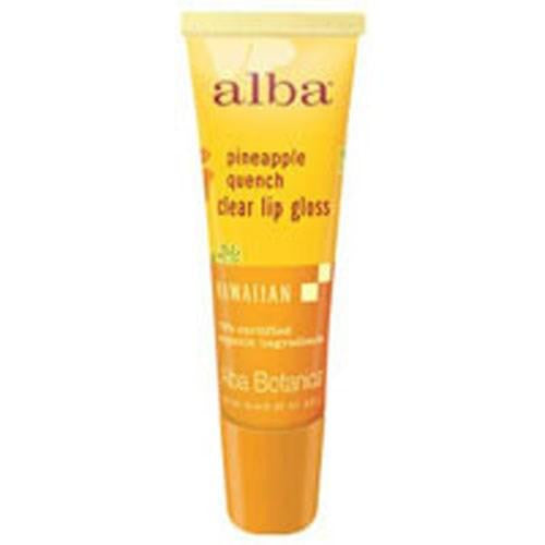 Hawaiian Lip Gloss Pineapple Quench .42 oz By Alba Botanica