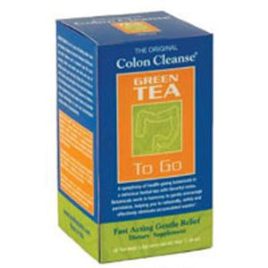 Colon Cleanse Green Tea 20 Bags By Health Plus
