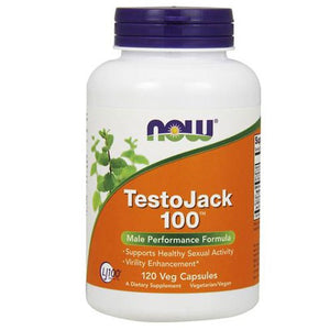 TestoJack 100 120 VCaps By Now Foods